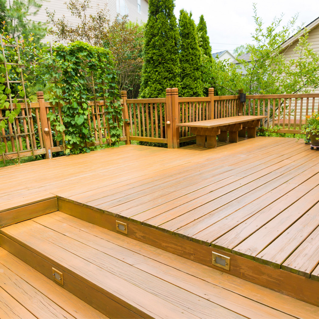 Get the most out of your backyard with our deck building services